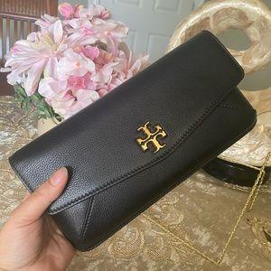 Tory Burch Kira leather clutch